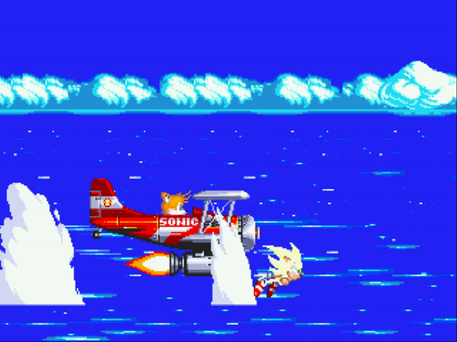 Sonic the Hedgehog 3 - your too slow  - User Screenshot